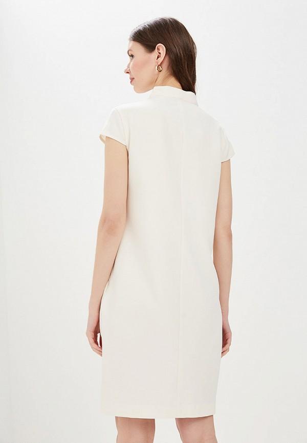 Фото 3 - Женское платье Valkiria белого цвета