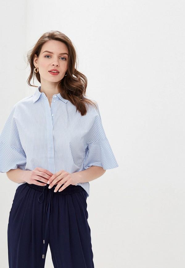 Фото - Женскую рубашку Valkiria голубого цвета