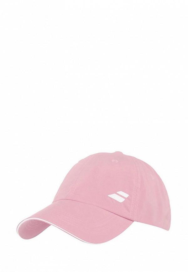 женская бейсболка babolat, розовая