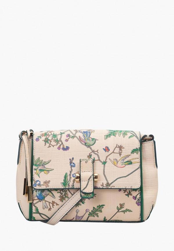 женская сумка eleganzza, бежевая