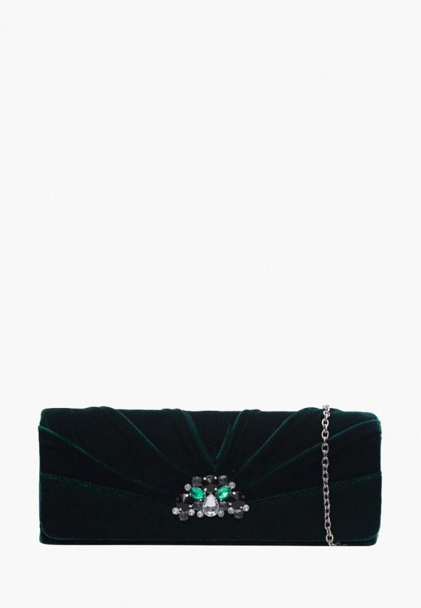 женский клатч eleganzza, зеленый