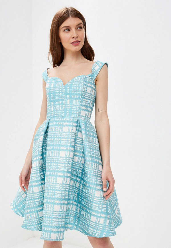 Платье Fashion.Love.Story цвет бирюзовый