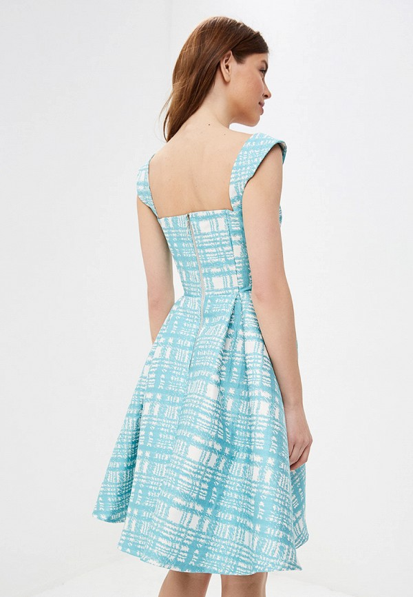 Платье Fashion.Love.Story цвет бирюзовый  Фото 3