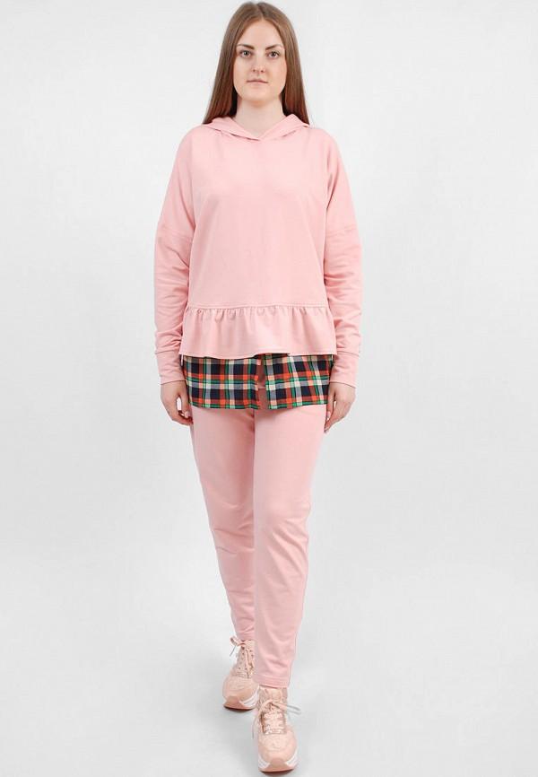 женский спортивные спортивный костюм sab, розовый