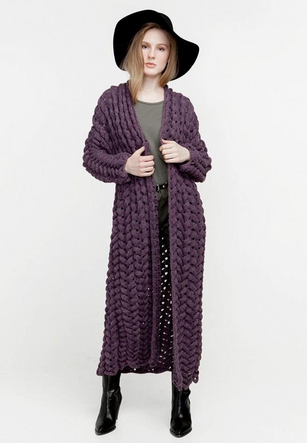 женский кардиган nataclub, фиолетовый