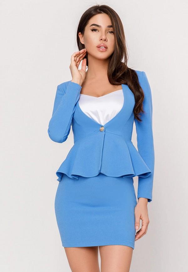 женский костюм gepur, голубой