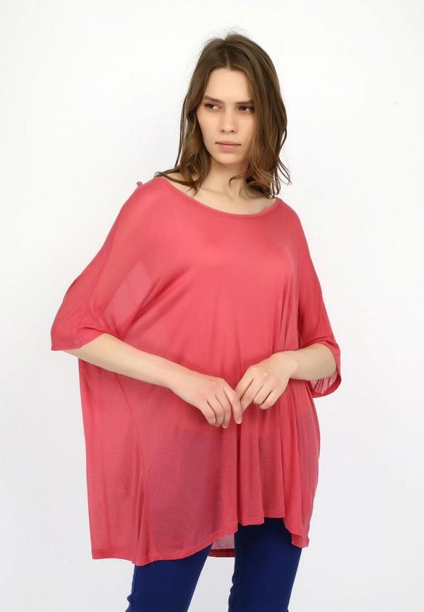 женская туника alcott, розовая