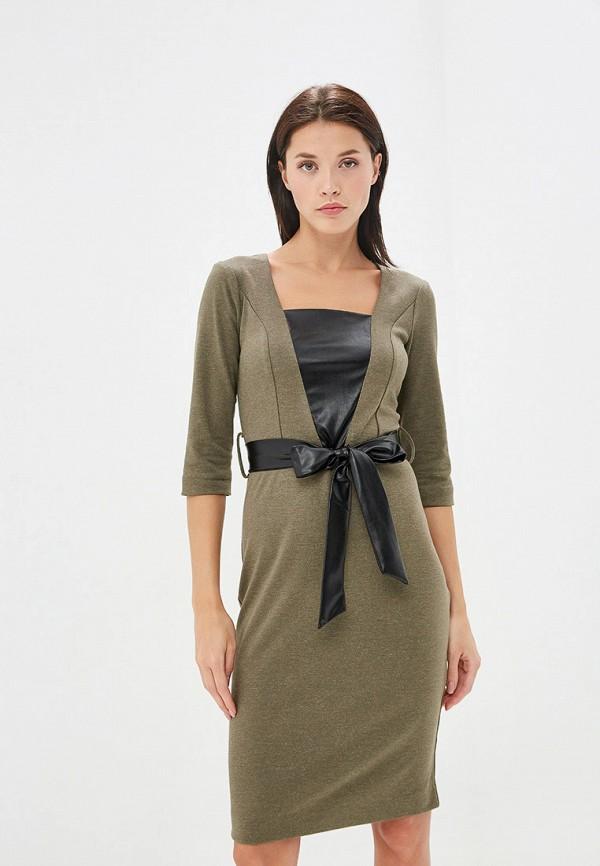 Платье Avemod цвет хаки