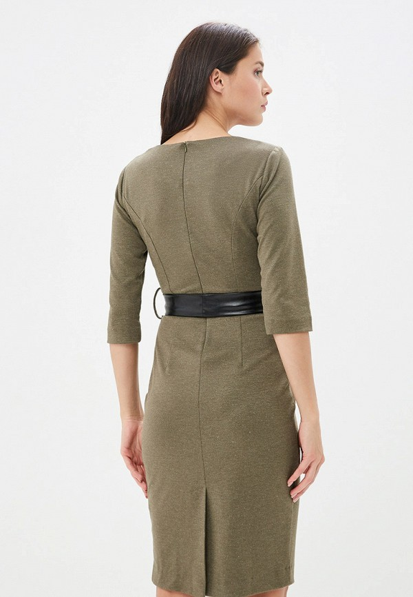 Платье Avemod цвет хаки  Фото 3