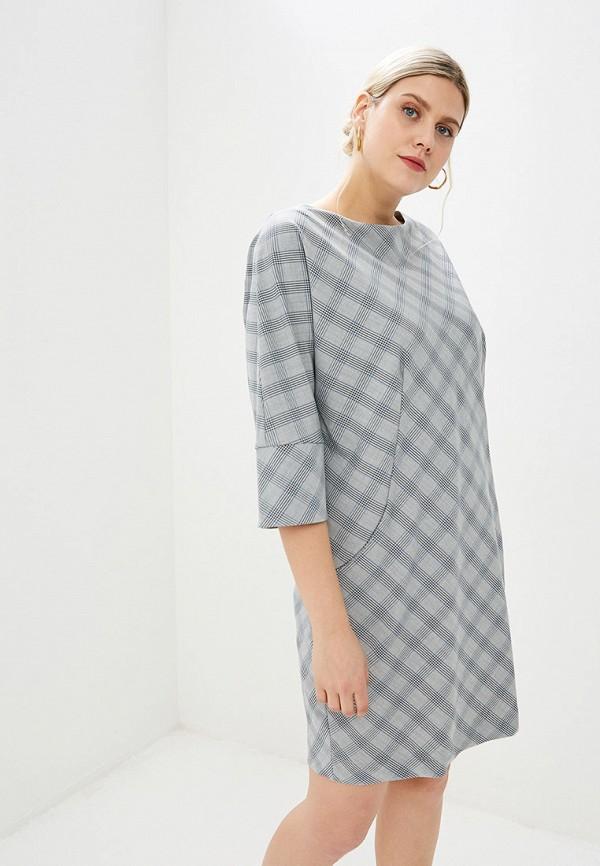 женское повседневные платье bordo, серое