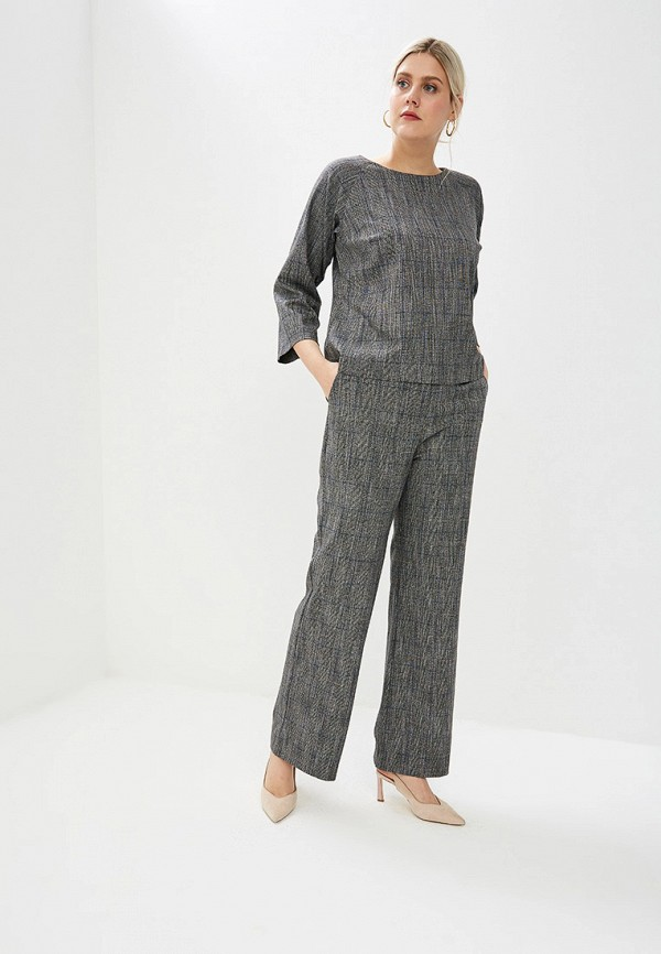 женский костюм bordo, серый