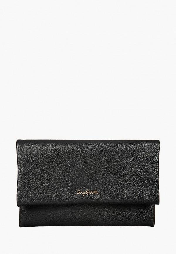 женский кошелёк sergio belotti, черный
