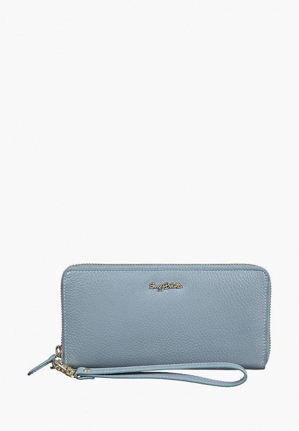 женский кошелёк sergio belotti, голубой
