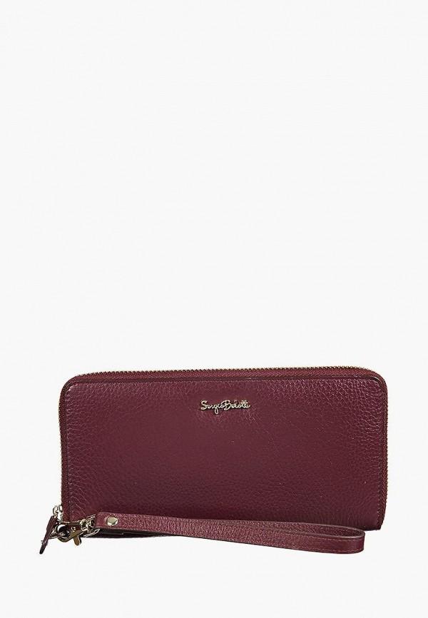 женский кошелёк sergio belotti, фиолетовый
