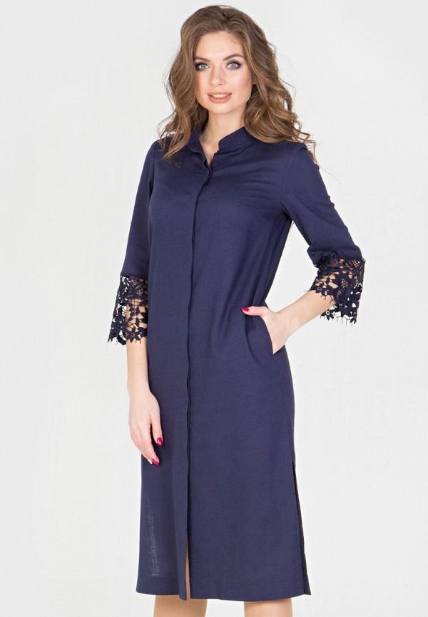 Фото - Женское платье Filigrana синего цвета