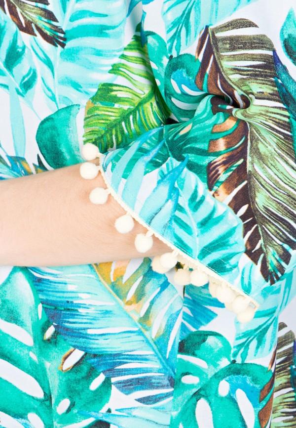 Фото 5 - Женское платье Filigrana голубого цвета