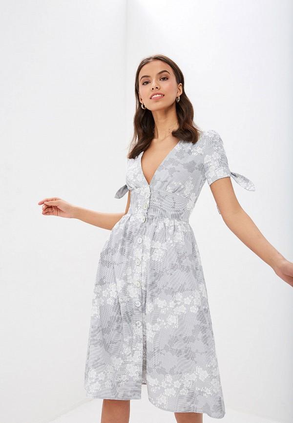 Фото - Женское платье Vittoria Vicci серого цвета