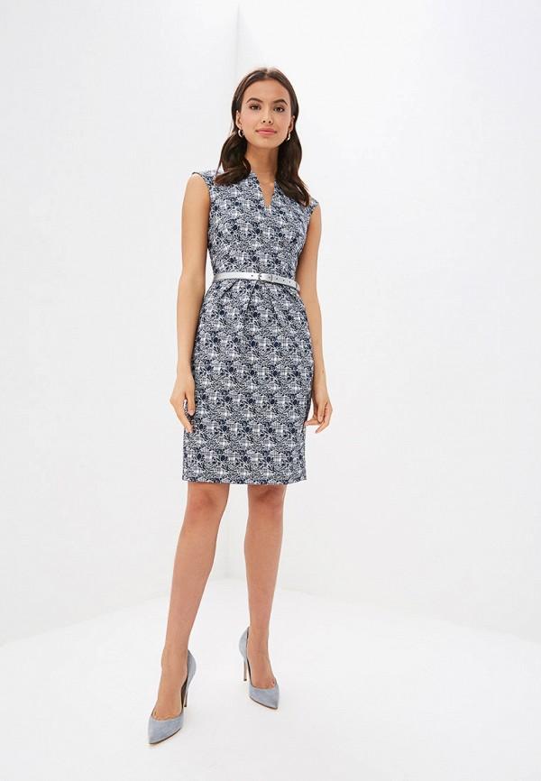 Фото 2 - Женское платье Vittoria Vicci синего цвета