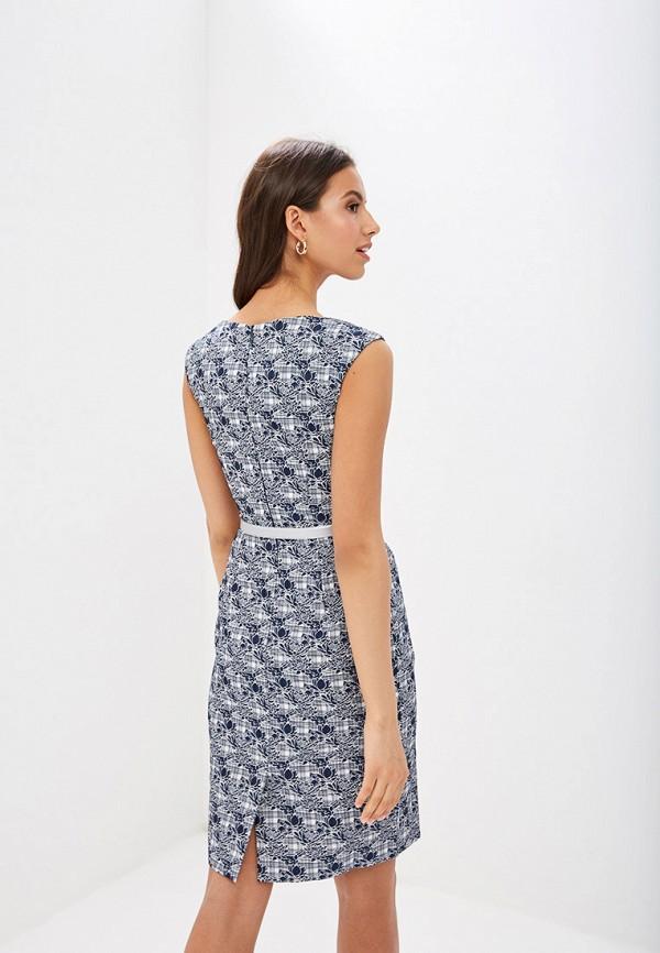 Фото 3 - Женское платье Vittoria Vicci синего цвета