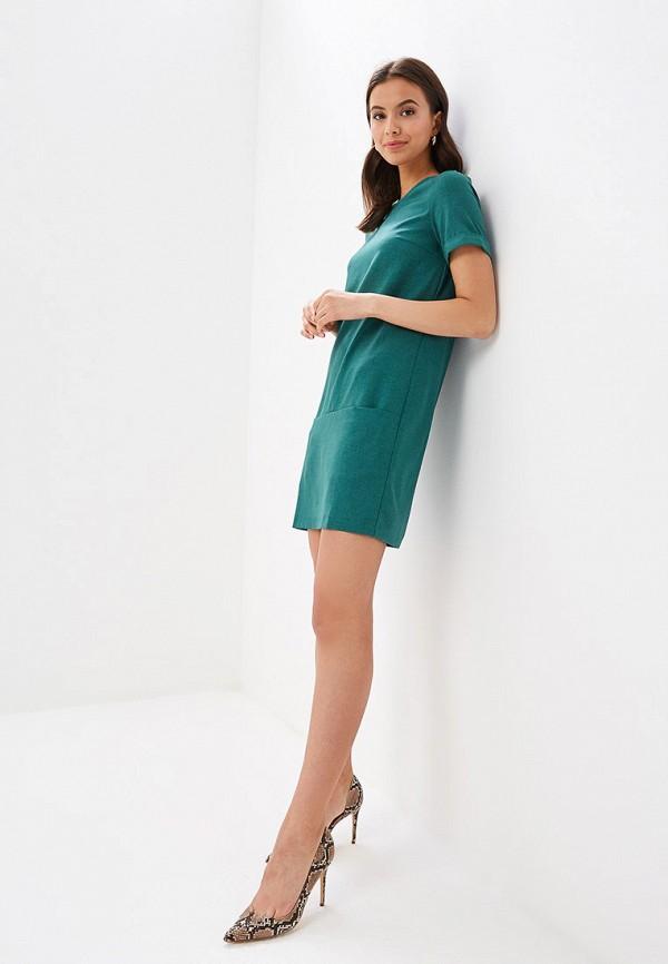 Фото 2 - Женское платье Vittoria Vicci зеленого цвета