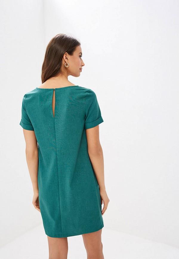 Фото 3 - Женское платье Vittoria Vicci зеленого цвета