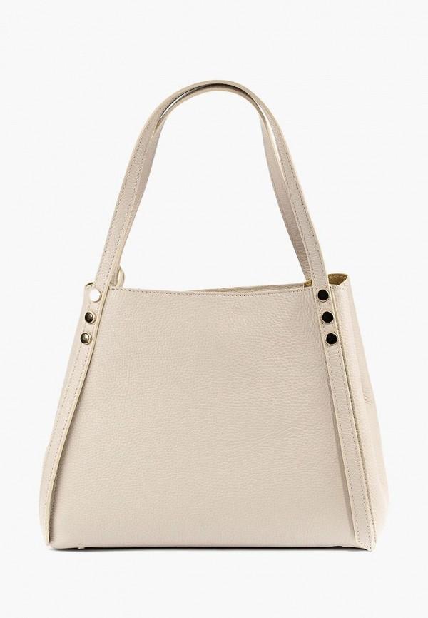 женская сумка vivat accessories, бежевая