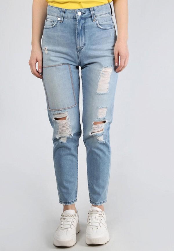 женские джинсы week, голубые