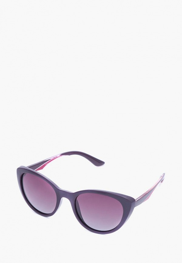 женские солнцезащитные очки luckylook, фиолетовые