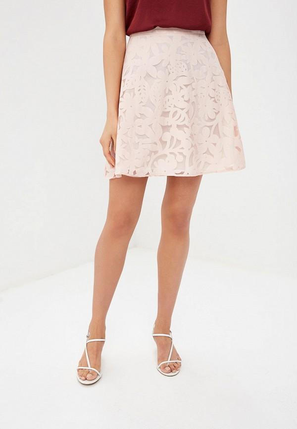 женская юбка tom farr, розовая