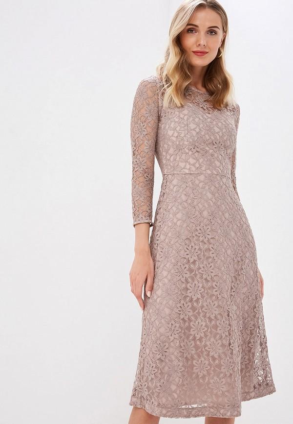 Платье Ruxara цвет коричневый