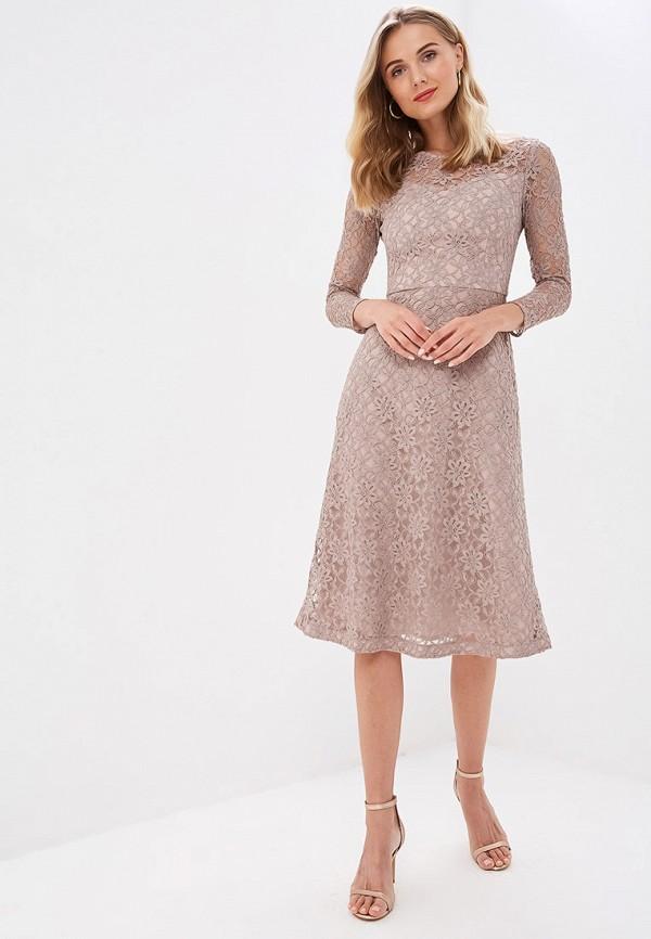 Платье Ruxara цвет коричневый  Фото 2