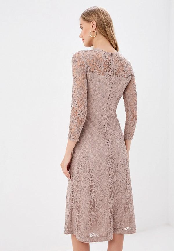 Платье Ruxara цвет коричневый  Фото 3