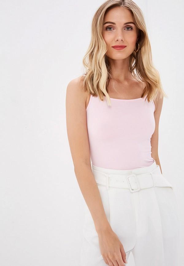 женский топ ruxara, розовый
