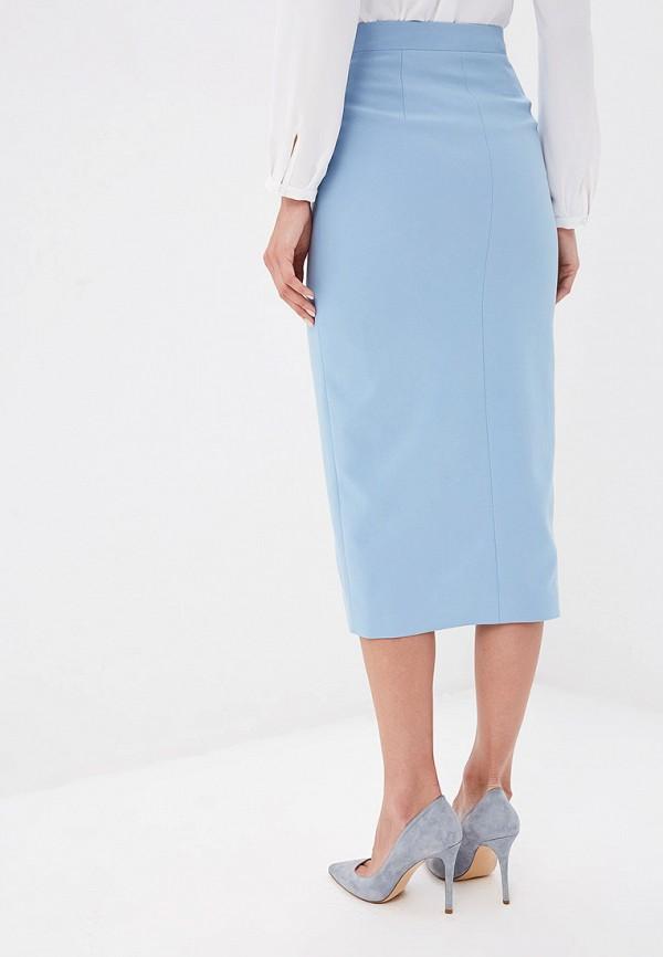 Юбка Ruxara цвет голубой  Фото 3
