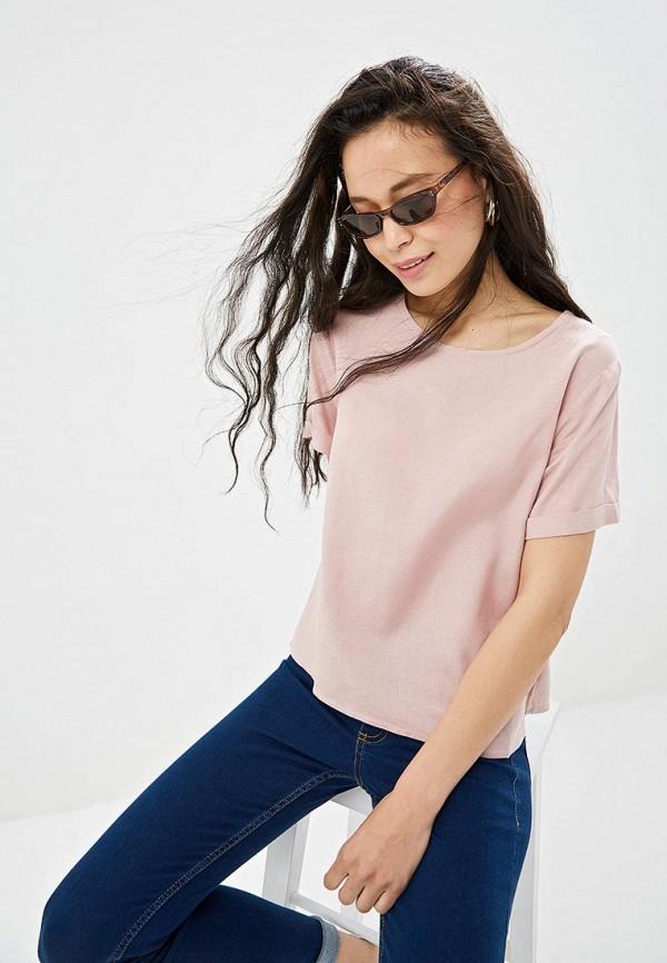 Фото - Женскую футболку Incity розового цвета