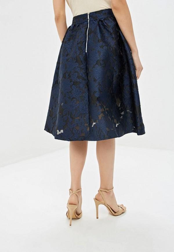 Фото 3 - Женскую юбку Incity синего цвета