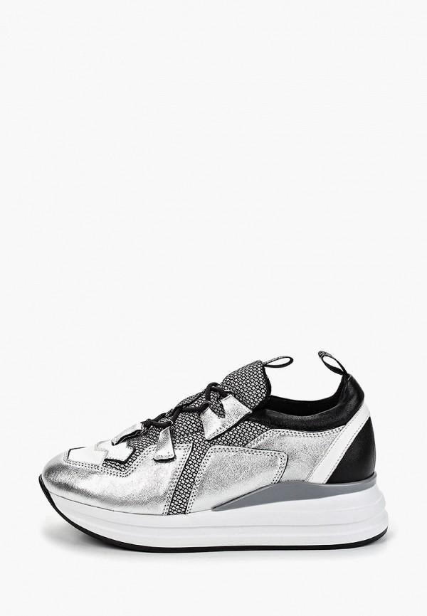 женские кроссовки dolce vita, серебряные