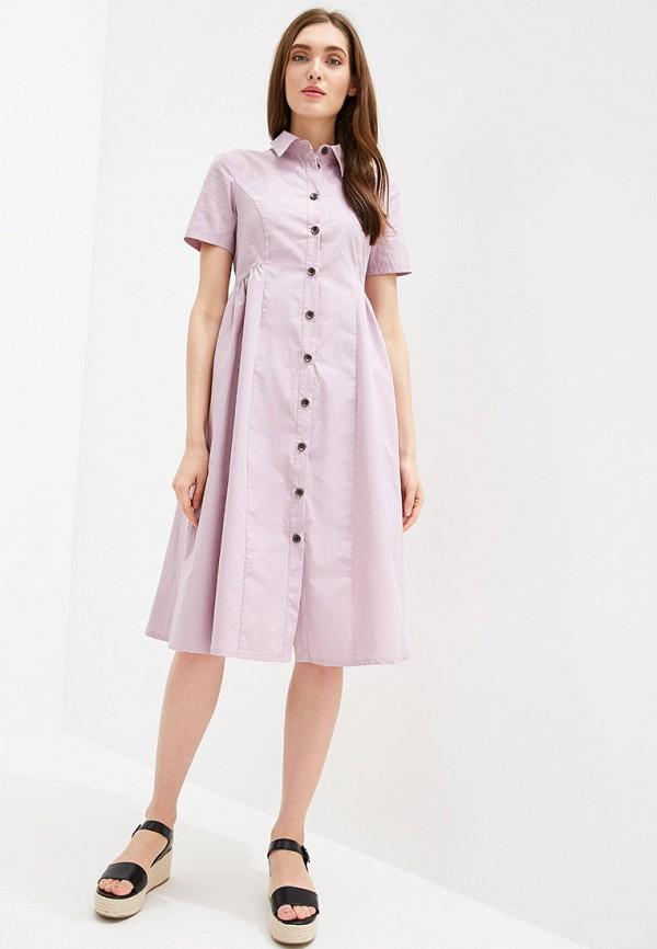 Фото 2 - Женское платье Tantino розового цвета