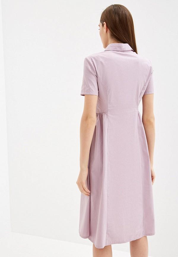 Фото 3 - Женское платье Tantino розового цвета