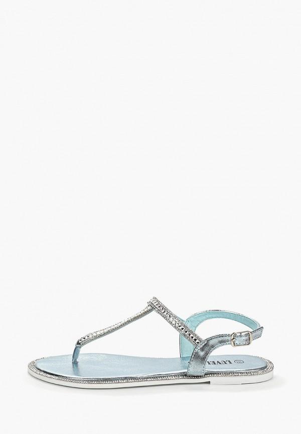 Фото - Женские сандали Luvelena голубого цвета