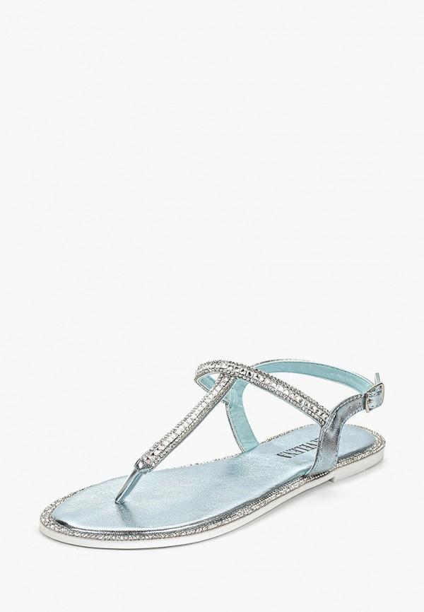 Фото 2 - Женские сандали Luvelena голубого цвета