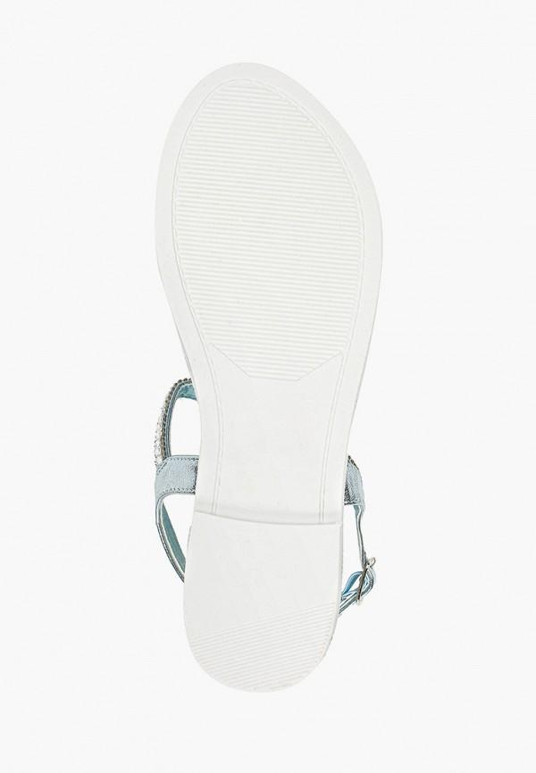 Фото 5 - Женские сандали Luvelena голубого цвета