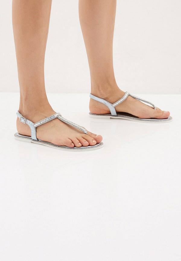 Фото 6 - Женские сандали Luvelena голубого цвета