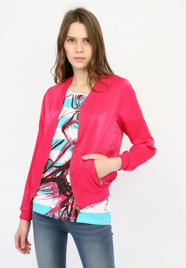 женская куртка alcott, розовая