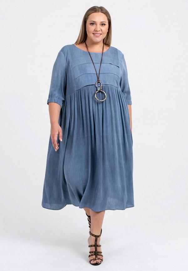 женское платье petit pas, голубое