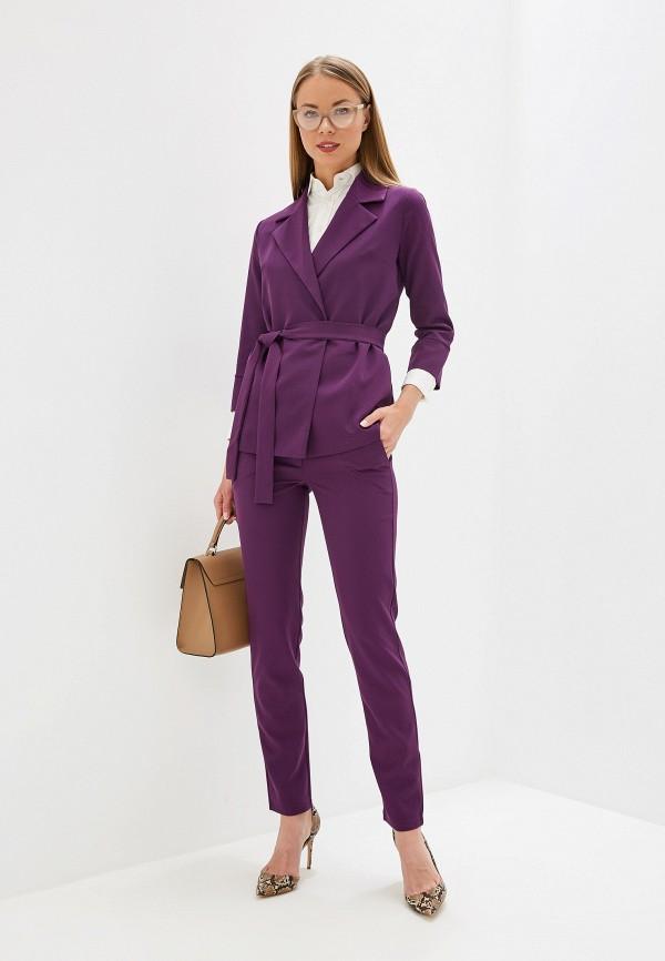 женский костюм vivaldi, фиолетовый