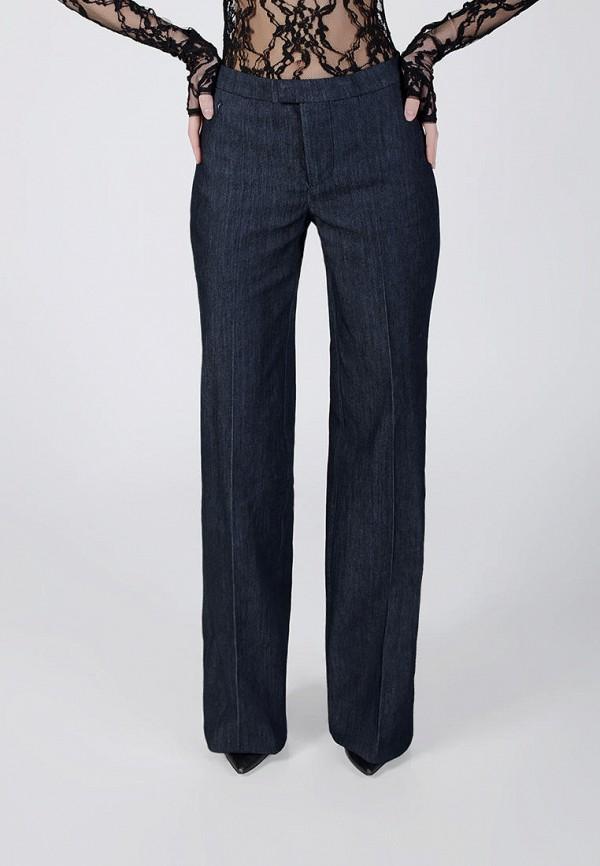 женские джинсы клеш kriza, синие