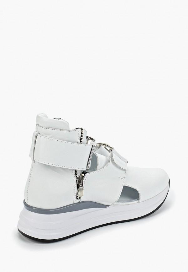 Фото 3 - Кроссовки Brulloff белого цвета