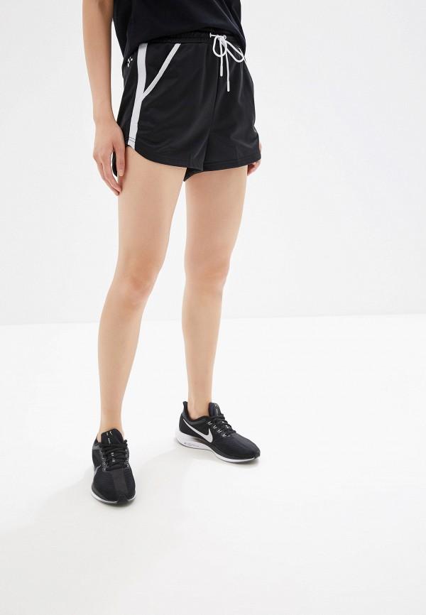 женские шорты craft, черные