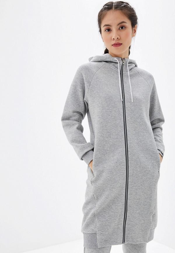 женское платье craft, серое